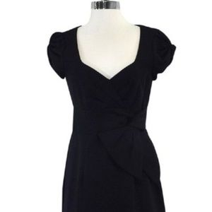 Nanette Lepore Dresses - Nanette Lepore navy cap sleeve dress 10